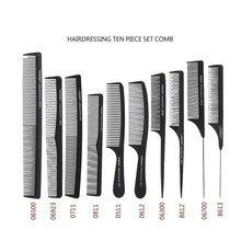 Kits de peines de cabello para salón profesional, peine de corte de peluquero, cepillo antiestático, juego de herramientas de cuidado de estilismo