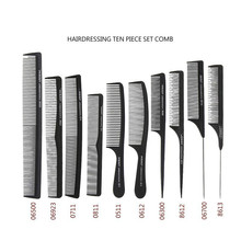 Professional Salon Hair Combs Kits Barber Cutting Comb Brushes Anti static Hairbrush Hair Care Styling Tool Set