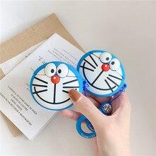 Chất Lượng Cao Nhật Bản Hoạt Hình Dễ Thương Doraemon Mèo Tai Nghe Trường Hợp Rung 1/2 3 Pro Silicone Bảo Vệ Tai Nghe Chụp Tai Cover