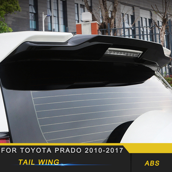 For Toyota Prado 2010-2019 Car Styling Rear Trunk Spoiler Lip Tail Trunk Wing Trim Exterior Accessories
