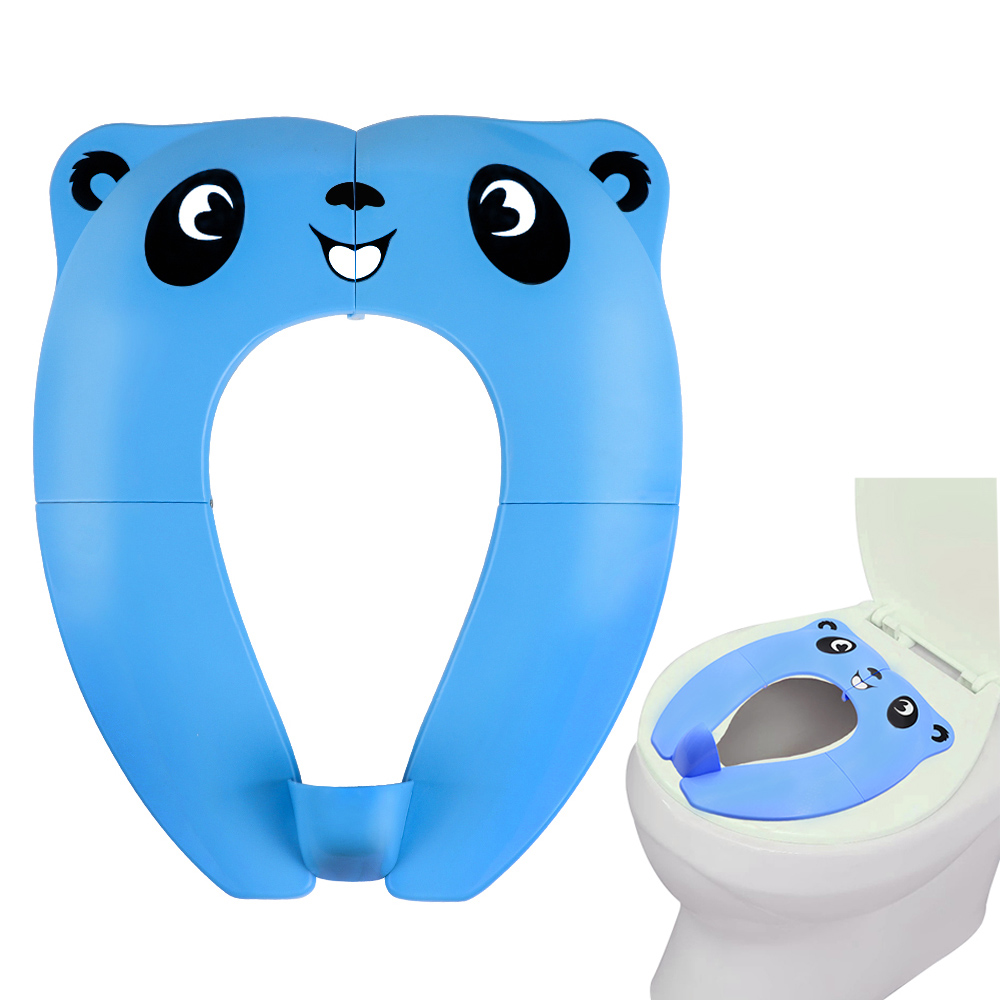 Reusable Potty Seat Cover Toddler Toilet Training Potty Seat Portable Travel Urinal Cushion 1set