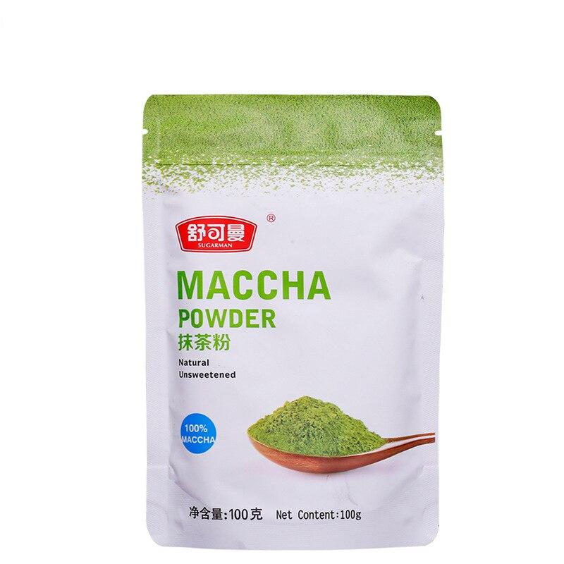 100g Organic Mini Matcha tea Bag Powder Pure Organic Portable Matcha Green tea Powder Professional Kitchenpaper Bags 2