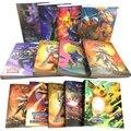 Папка для карт Pokemon, коллекция карт Pokemon, альбом, книга, игрушка, карточка, защитная книга для Pokemon GX EX, 30 страниц, удерживание 240 шт.