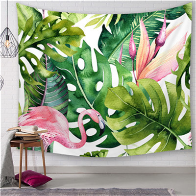 Nordic style Flamingo Tapestry Home Decorations Wall Fabric Wall Hanging Tapestry Blanket Tapestries Farmhouse Decor in Tapestry from Home Garden