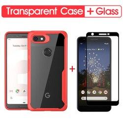 На Алиэкспресс купить стекло для смартфона luxury shockproof phone case for google pixel 3a soft transparent case cover for google pixel 2 xl 3 xl 3a 3axl silicone case