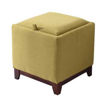 Coffee table solid wood footstool home living room storage stool creative multifunctional fabric change shoes stool storage stoo