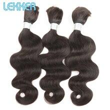Lekker объемные волнистые волосы оптом 10-30 Малазийские Волосы Remy человеческие волосы 3 объемные DIY волосы оптом предварительно окрашенные человеческие волосы оптом
