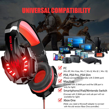 Aaliyah Stereo PC Gaming Headphones with Microphone Bass Headset for XBOX ONE PS4 Computer Laptop Mobile Phones For Video Game