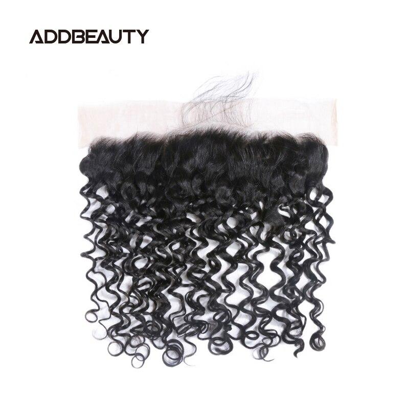5x5 швейцарская кружевная застежка 13x4, волнистые фронтальные бразильские необработанные человеческие волосы, естественный цвет, предварите...