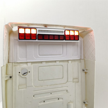 Bright Rear Light LED Light Bar Lamp for 1/14 Tamiya Scania 56323 R620 R730 RC Car Parts Accessories