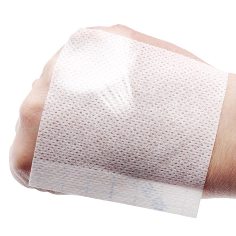 100Pcs/Pack Breathable Hypoallergenic Nonwoven Adhesive Wound Dressing  Fixation Tape Bandage