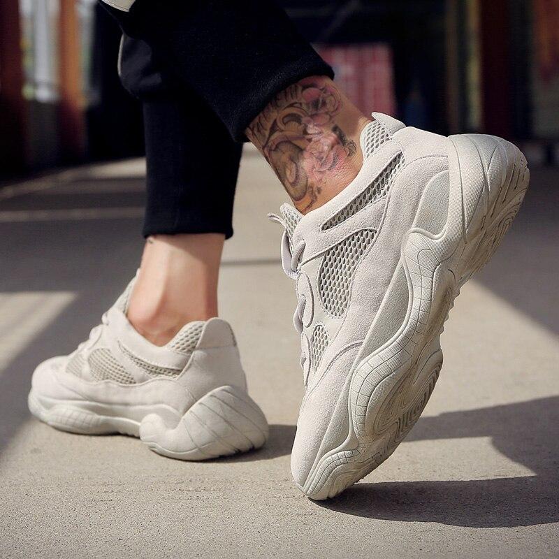 Automne Winte baskets hommes chaussures décontractées botte de luxe marque mâle chaussures Cool mode jeune homme chaussures de rue noir blanc bottes
