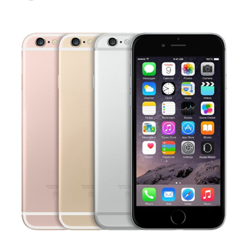 Apple Iphone 6 S LTE Dual Core RAM 2GB 4.7 Inch NFC Apple Pay Hanya IOS 12MP Kamera Belakang 5MP Kamera Depan Ponsel