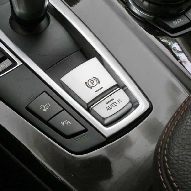 Chrome ABS Nội Thất Ô Tô Nút Bấm Kim Sa Lấp Lánh Trang Trí Bao Viền Đề Can Cho Xe BMW Series 5 F10 F18 520 525 528 530 2011-17 Xe Decora