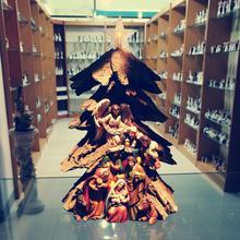 Zayton Cold cast resin figurines Nativity Scene Christmas Tree Decor Holy Family Statue Jesus Mary Joseph