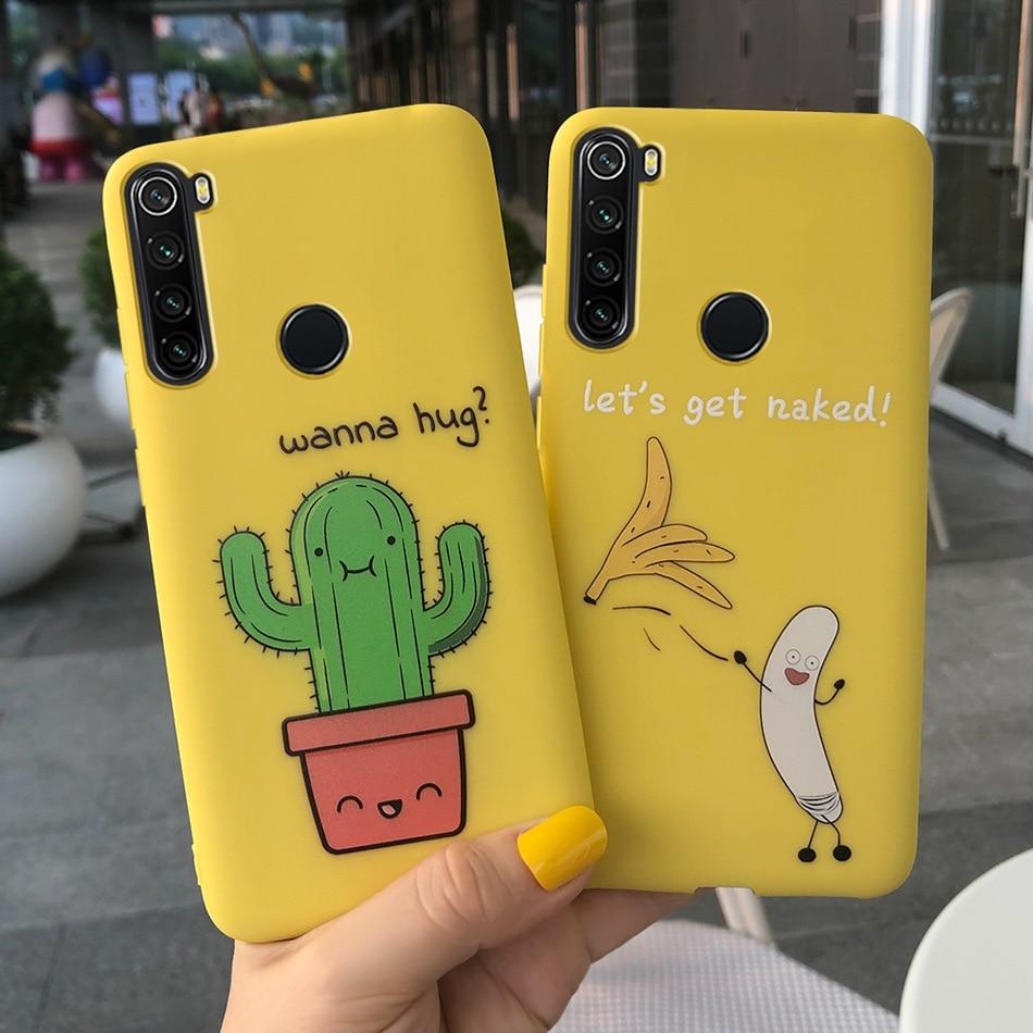 For Cover Xiaomi Redmi Note 8 Case Cartoon Pattern Soft Silicone Case For Xiaomi Redmi Note 8 Cover Funda Redmi Note 8 T 8T Case