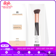 U102 Tapered Foundation Brush Base Foundation  Blending Contour Luxe Rose gold Brush Unique Colors Professional Makeup Tools