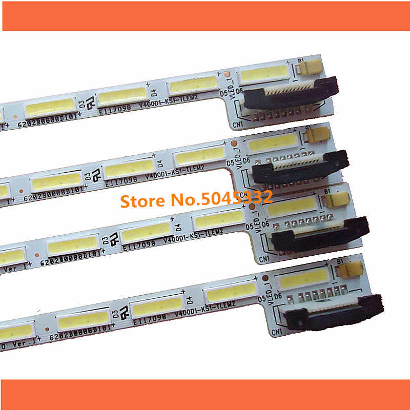 "1 PCS 40 ""screen V400DK1-KS1 LED backlight bar V400D1-KS1-TLEM2 E117098 48 LEDs 490MM"