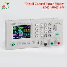 RD RUIDEN-módulo de fuente de alimentación reductor ajustable RD6018 RD6018W 60V WiFi USB DC, convertidor Buck y 800W 1000W AC a DC PSU