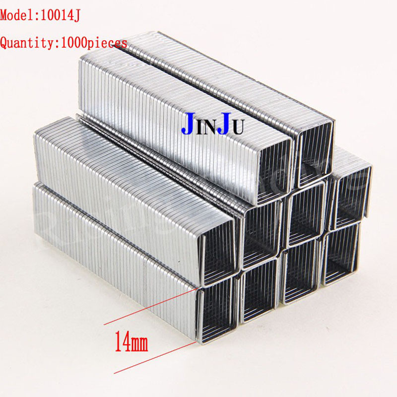 """10-14mm Narrow Crown Nails 1.2MM Thick Nail High Hardness Door Nails 3/8"""" To 9/16"""" For 3 In 1 Heavy Duty Staple Gun"""