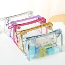 Прозрачные сумки из ПВХ дорожный органайзер прозрачная косметичка