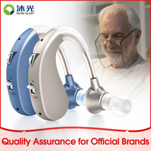 More Glory Hearing Aid Digital Sound Amplifier BTE Sound Amplifiers for Elderly 80-90dB Moderate Hearing Loss Model VHP-202S