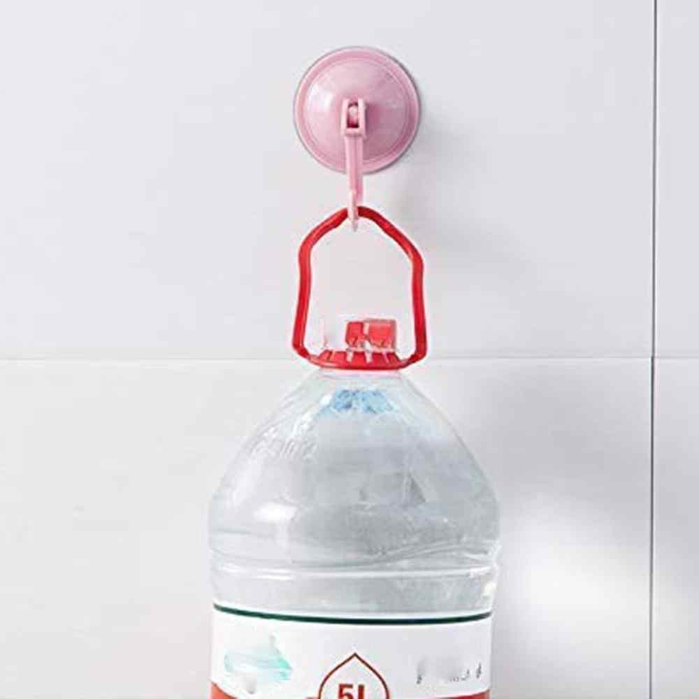 Suction Cup Kait Dapur Handuk Kait Dinding Dapat Dilepas Vakum Pemegang untuk Tile Halus Kaca dan Cermin Fashion