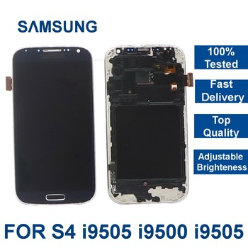 100% tested 5.0 LCD For SAMSUNG Galaxy S4 LCD Display with Frame i9500 i9505 i9506 Touch Screen Digitizer Assembly Replacement 100% tested original lenovo s90 lcd display touch screen digitizer pannel assembly with frame replacement s90 t s90 u s90 a tool