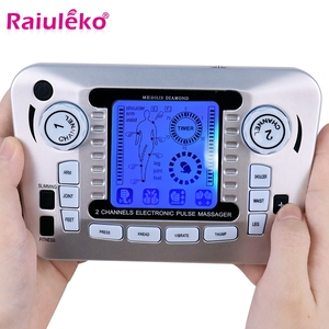Image 1 - 20 Levels Body Massage Electronic Slimming Pulse Massage Muscle Relax Pain Relief Stimulator Tens Acupuncture Therapy Machine