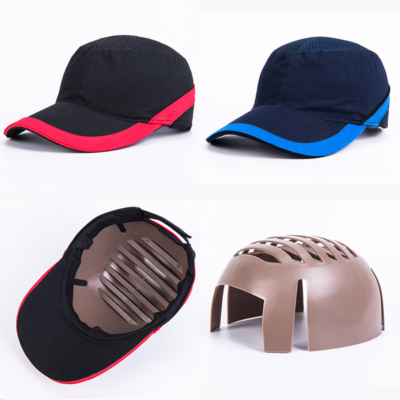 Bump Cap Summer Lightweight Hard Hat Anti-impact Outdoor Baseball Cap Factory Workshop Labor Insurance Protective Cap