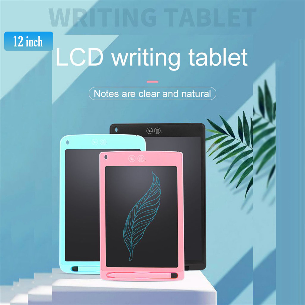 Computer Peripherals 12 Inch Lcd Writing Tablet-electronic Writing Board Doodle Board Drawing Board Компьютерная Периферия #59