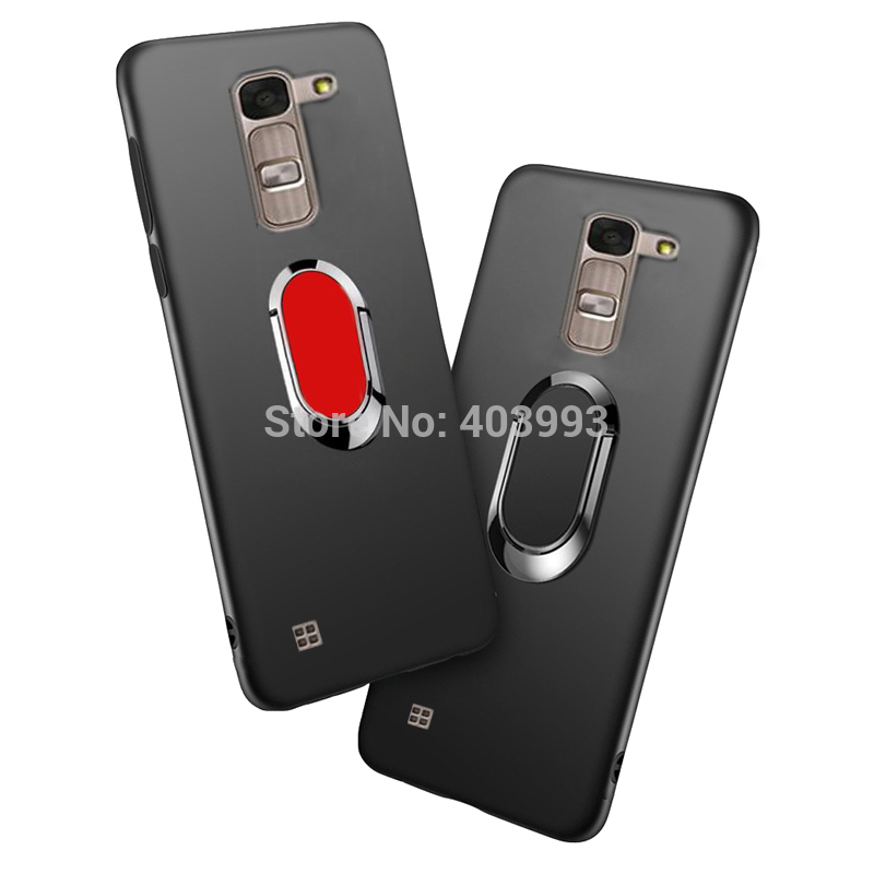 Fundas for LG Magna G4c H522Y H502f H500F H525N Soft Case Finger Ring Magnet Matte Protector Case For LG G4 Mini Case