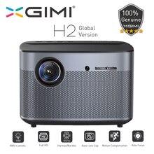 نسخة عالمية من أجهزة العرض XGIMI H2 بدقة 1080 بكسل فائقة الوضوح 1350 Ansi لومن 4K Vidéo جهاز عرض ثلاثي الأبعاد يدعم المنزل cinéma
