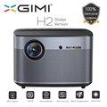 Xgimi h2 projecteur versão global 1080 pixels completa hd 1350 ansi lumens 4 k vidéo projecteur 3d suporte para casa cinéma