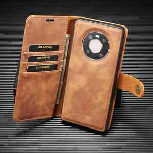 Image 1 - 2 in 1 Case For Huawei Mate 40 Pro Plus  Case Cover High End Leather Removable Coque For Huawei Mate 40Pro Cases Wallet Fundas