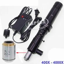 100X-1000X / 200X- 2000X / 400X-4000X Zoom Industry Microscope Camera Coaxial Light C-mount Lens Set