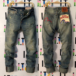 2020 Nieuwe Collectie Evisu Casual mannen Ademend Hoge Kwaliteit Jeans Warme mannen Tij Merk Borduren Straight Print Mannen's Broek