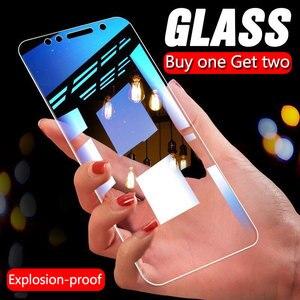 Image 1 - Protector de pantalla de cristal templado para Xiaomi, Protector de pantalla de vidrio templado para Xiaomi Redmi Note 7 8 6 5 Pro 5A 6, 3 uds.