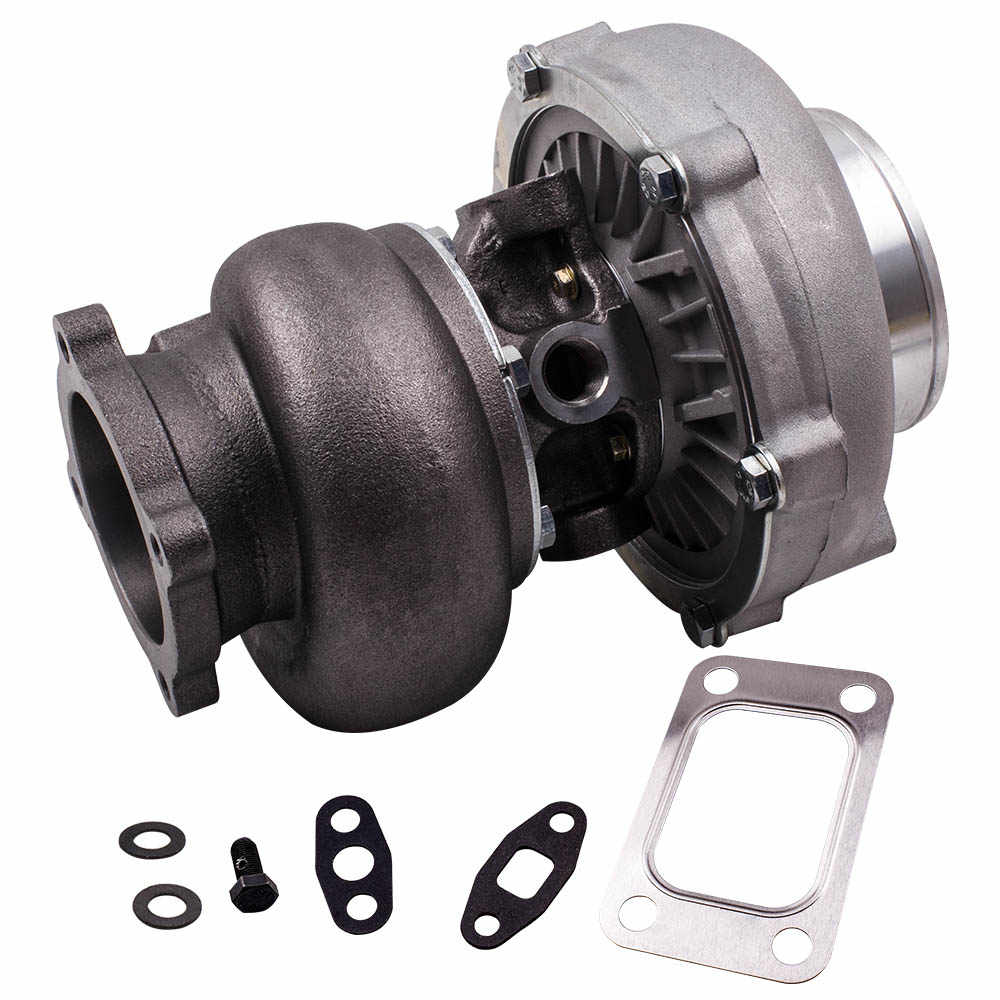 GT30 gt3037 GT3076 universal Turbo charger Wet Bearing Turbine with gaskets  4-Bolt ANTI-SURGE WATER COOLED CIVIC INTEGRA