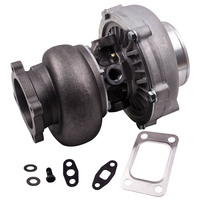GT30 gt3037 GT3076 universal Turbo charger Wet Bearing Turbine with gaskets 4 Bolt ANTI SURGE WATER COOLED CIVIC INTEGRA