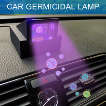 85-265v Air Cleaner Home Portable UV Sterilization Lamp Usb Rechargeable Bedroom Car Indoor Germicidal Cob Light Disinfection