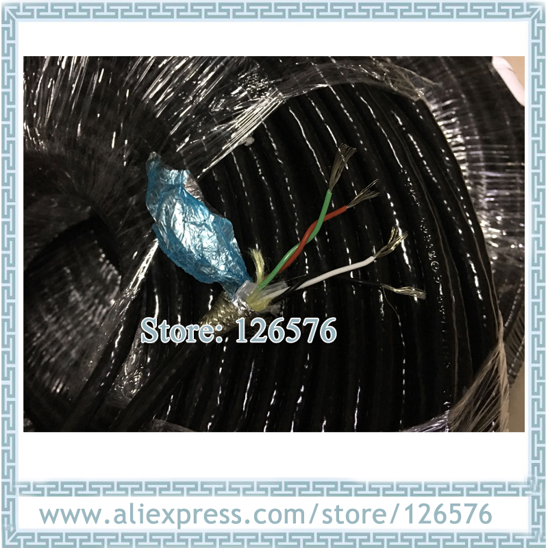 10 Meter High Quality 0.3^mm2 4 Core Shielded Cable Polyurethane Wire