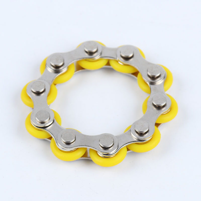 Toy Bracelet Bike-Chain Fidget-Toy Autism Anti-Stress ADHD New for Adult/student Spinner img3