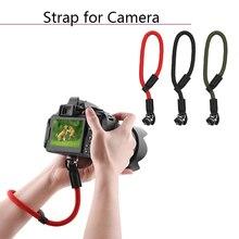 حزام اليد ل DJI OM 4 Osmo المحمول 2 3 Zhiyun Feiyun يده Gimbal اكسسوارات ل SLR كاميرا العالمي الحبل حزام المعصم