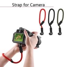 El kayışı DJI OM 4 Osmo Mobile 2 3 Zhiyun Feiyun el Gimbal aksesuarları SLR kamera için evrensel kordon bileklik