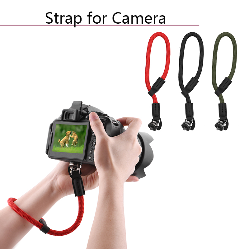Hand Strap for DJI Osmo Mobile 2 Zhiyun Feiyun Handheld Gimbal for SLR Camera Mount with Base Screw Universal Lanyard Wrist Belt in Gimbal Accessories from Consumer Electronics