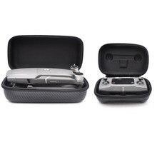 portable case Remote Controller & drone body bag Hard shell box Fiber skin PU Waterproof  for dji mavic 2 pro zoom drone