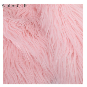Chzimade Long Rabbit Faux Fur Fabric 20x30/40x60cm For Patchwork Sewing Material Garment Diy Home Decoration 4