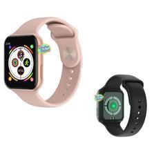 F10 Смарт-часы Полный сенсорный экран для сердечного ритма кровяное давление Bluetooth спортивный фитнес-трекер умные часы для Android IOS