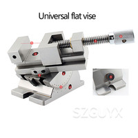 2 inches 3 inches Universal flat vise Arbitrary rotating precision vise Suitable for precision surface grinder processing